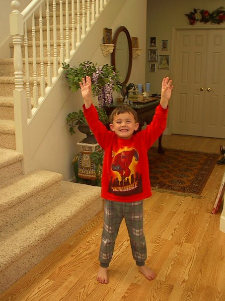 My Middle Son Andrew who Has Aspergers (Age 3) He is now almost 17.